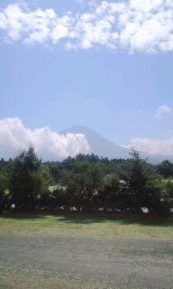【旅行】9日の富士