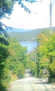 【旅】山中湖付近の富士