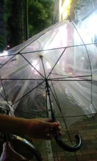 【つぶやき】ある日の傘