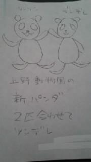 【】上野動物園の新パンダ