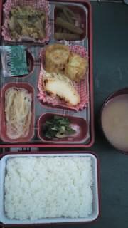 【】仕出し魚と揚げ焼売