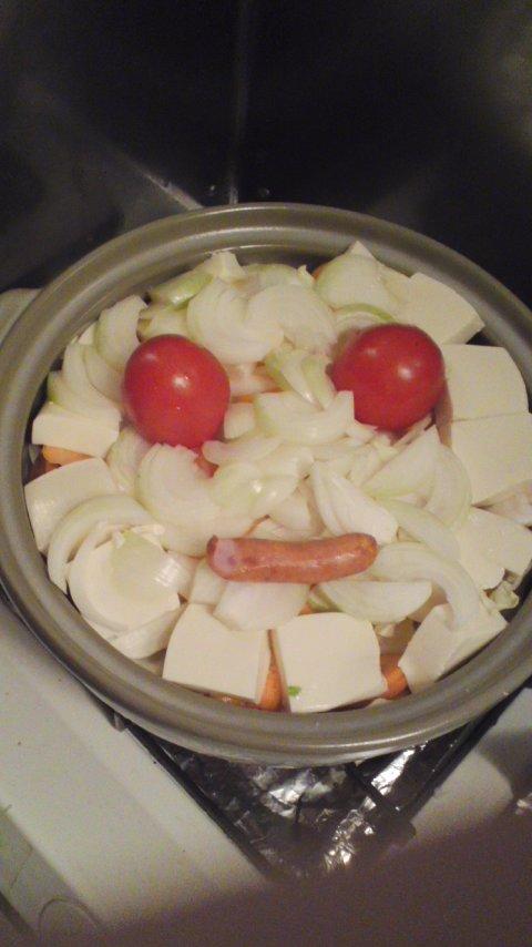 【グルメ】トマト鍋